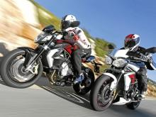 MV Agusta Brutale 800 i Triumph Street Triple R: smooth criminals