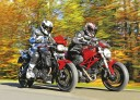 <p>2-CYLINDROWE<br />BMW F 800 R<br />DUCATI MONSTER 796</p>