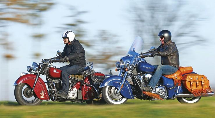 Indian Chief stary kontra nowy