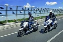 Kymco Xciting 400i vs Yamaha Xmax 400: X - FACTOR