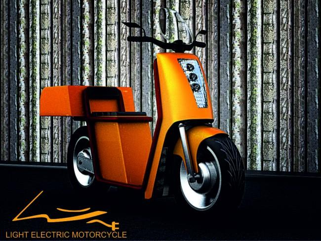 Light Electric Motorcycle