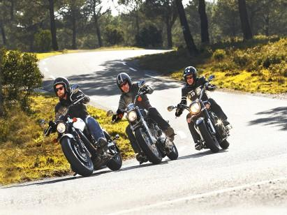 Test cruserów -Yamaha XVS 1300 A Midnight Star, Indian Scout Sixty, Harley-Davidson Sportster 1200 Custom