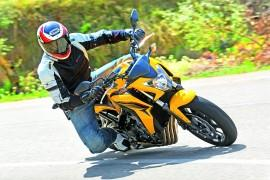 Test Modeka Breeze i Honda CB 650 F.