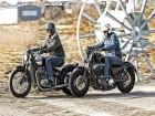 Harley-Davidson Forty Eight, Triumph Bonneville Bobber
