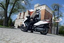 Raport z jazdy Kymco Downtown 350i ABS