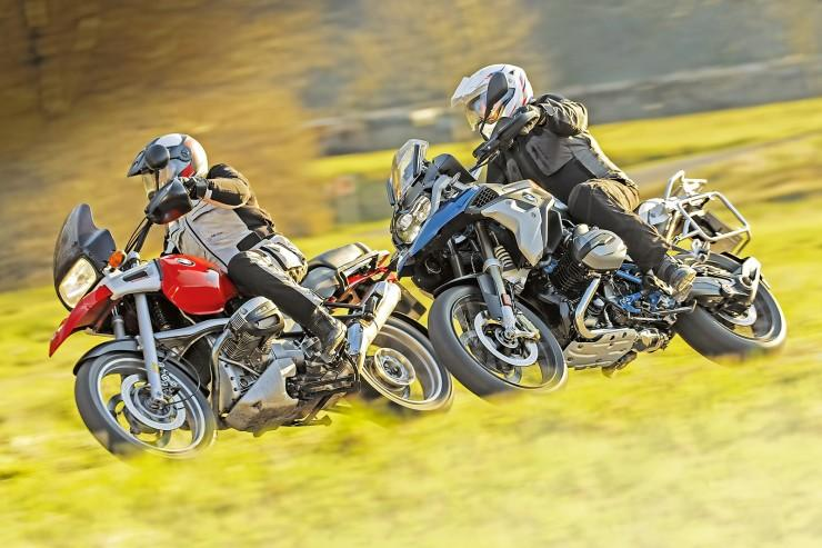 BMW R 1200 GS Rallye vs BMW R 1100 GS