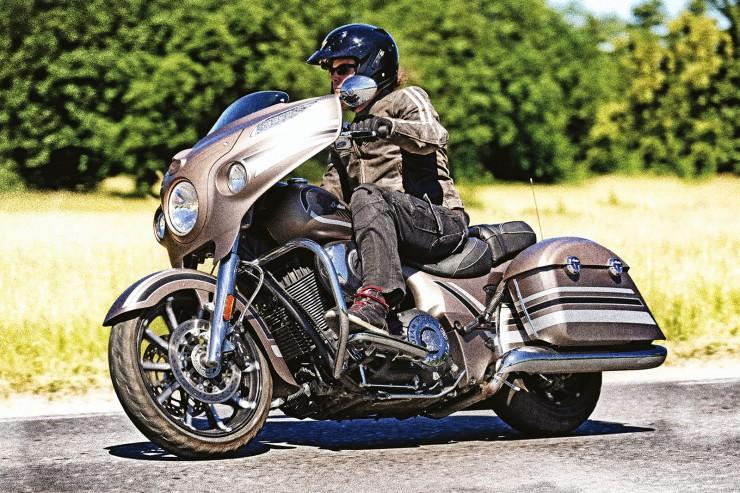 test Indian Chieftain Limited