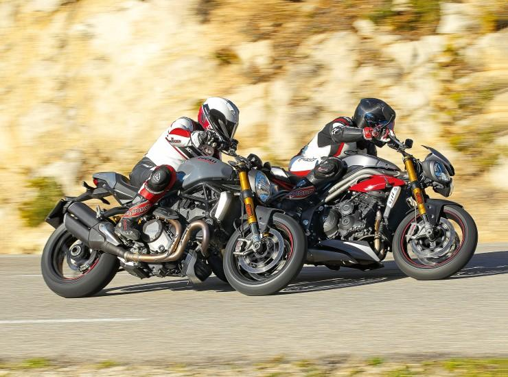 Ducati Monster 1200 vs Triumph Speed Triple R