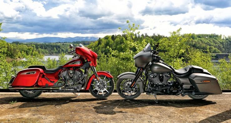 Harley-Davidson Street Glide Special vs. Indian Chieftain Limited