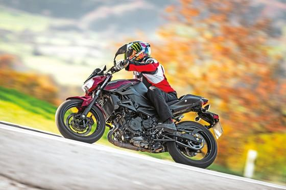 Kawasaki Z 400 - top test