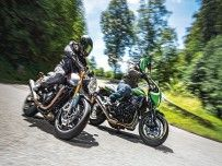 Triumph Thruxton RS, Kawasaki Z 900 RS CAFE