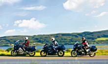 BMW R 1200 RT vs TRIUMPH Sprint ST vs YAMAHA FJR 1300 A