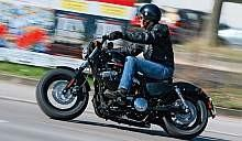 Harley-Davidson Sportster Forty-Eight - Blues i rock'n'roll