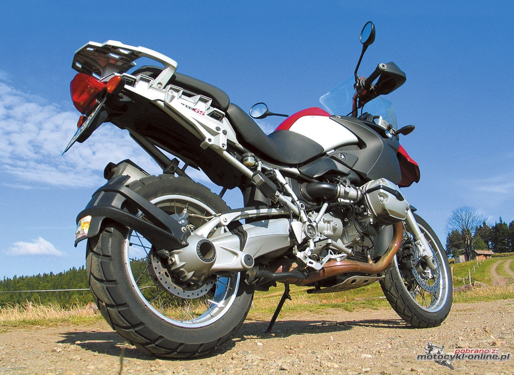 bmw r 1200 gs w serwisie w motocykl online. Black Bedroom Furniture Sets. Home Design Ideas